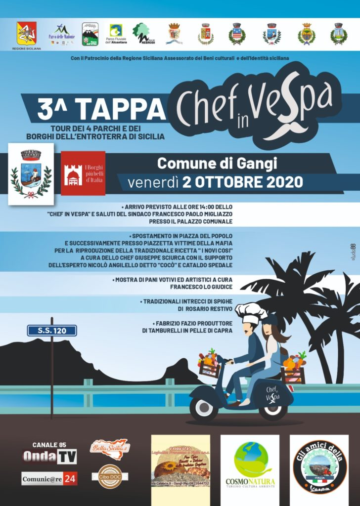3^ Tappa Chef in Vespa